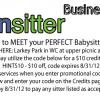 Featured Business: UrbanSitter