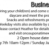 Featured Business: Once Upon A Time Family-Home Child Care