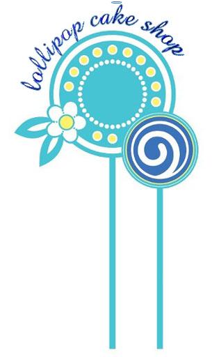 Lollipop Cake Shop Logo
