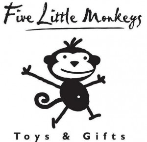 five little Monkeys - Copy
