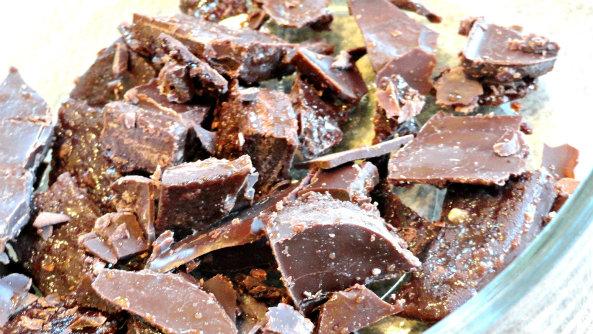 Homemade chocolate 8
